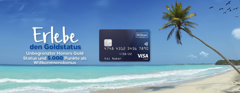 Hilton Honors Credit Card - mehr Honors geht nicht